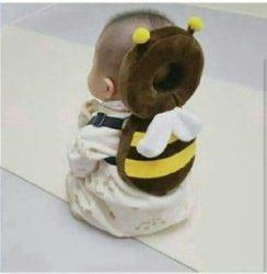 محافظ ایمنی سر کودک مدل زنبور عسل زرد