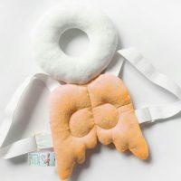 محافظ ایمنی سر کودک مدل فرشته نارنجی
