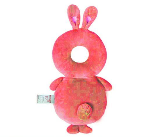 محافظ ایمنی سر کودک مدل خرگوش صورتی