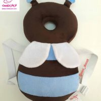 محافظ ایمنی سر کودک مدل زنبور عسل آبی