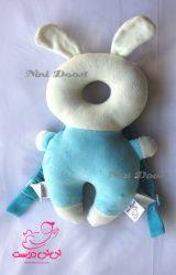 محافظ ایمنی سر کودک مدل خرگوش آبی